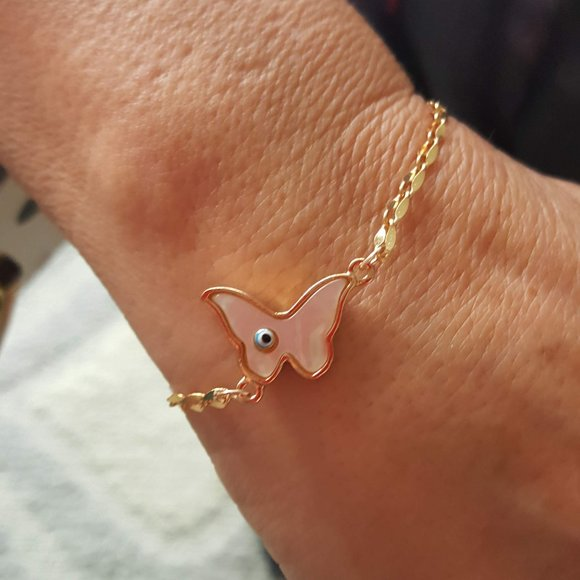 Jewelry - Gold Butterfly Bracelet